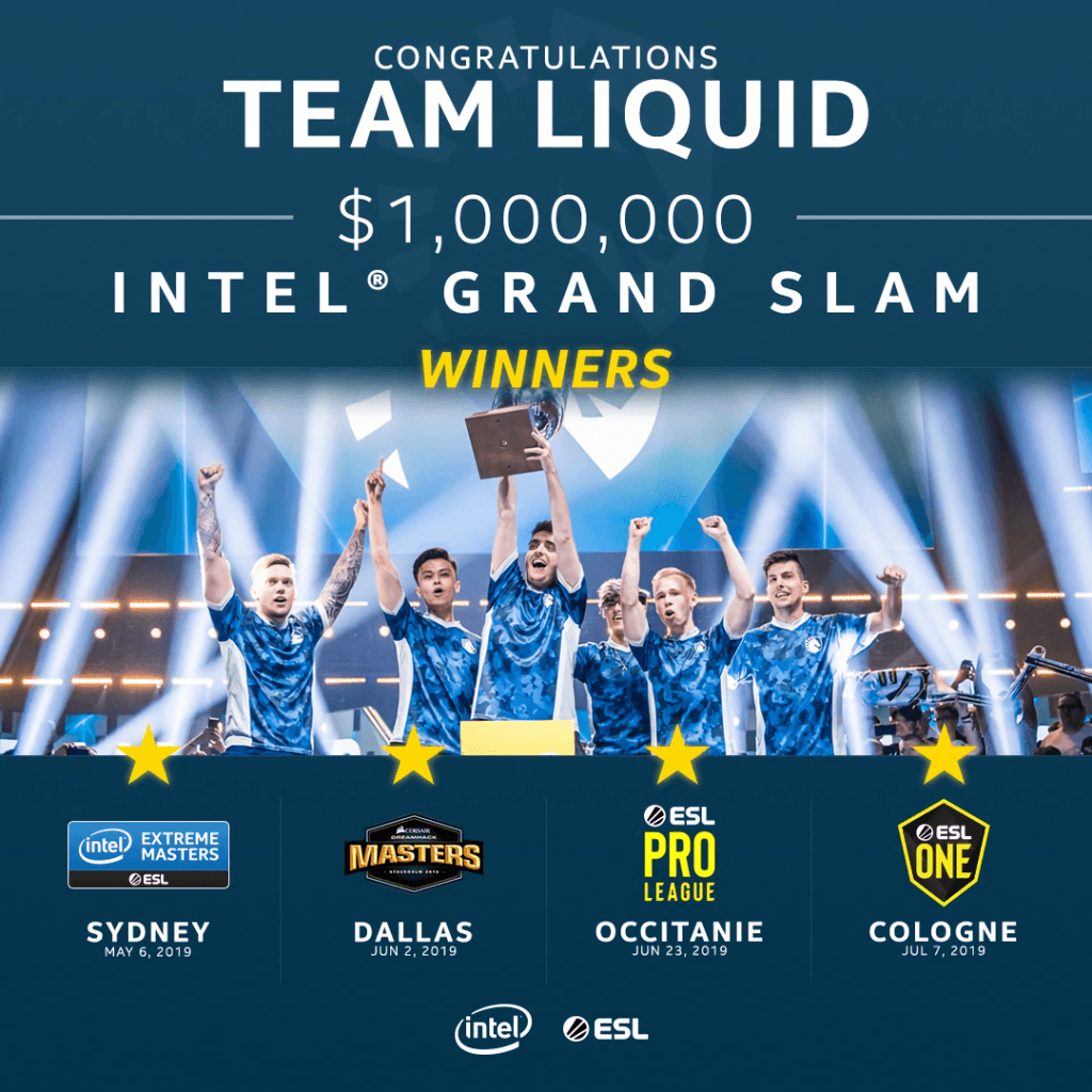 liquid intel grand slam