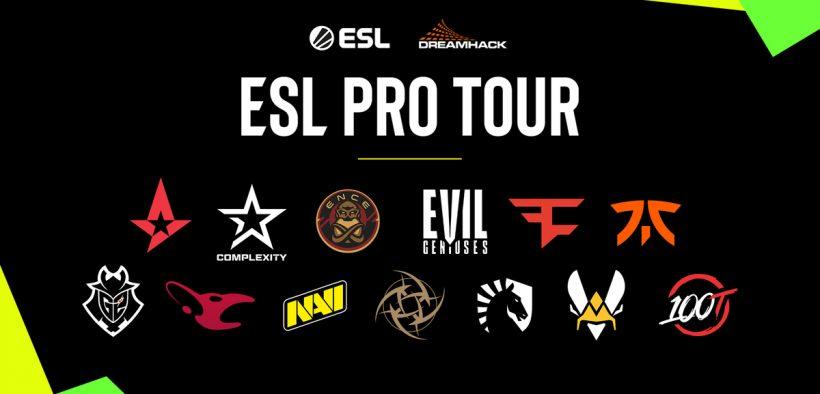 esl pro league партнеры