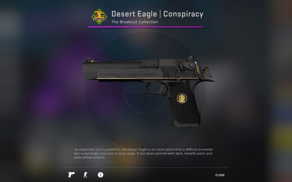 Desert Eagle Заговор