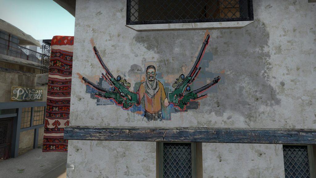 fnatic граффити