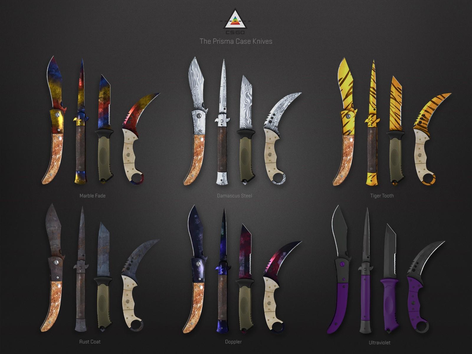 prisma 2 case ножи