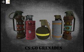 csgo гранаты