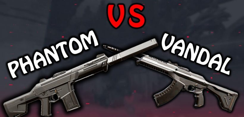 valorant phantom vs vandal