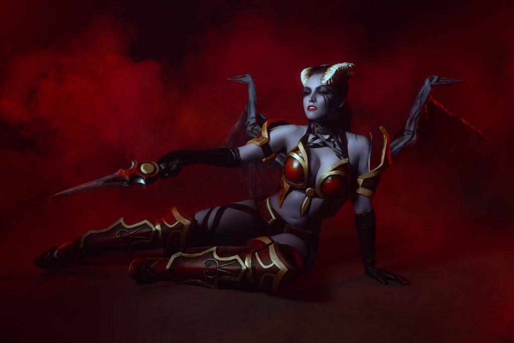 queen of pain косплей