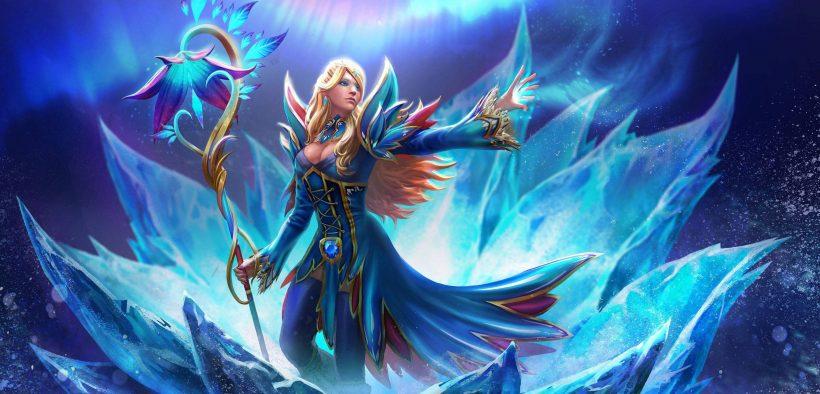 dota 2 crystal maiden