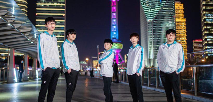 damwon gaming worlds 2020