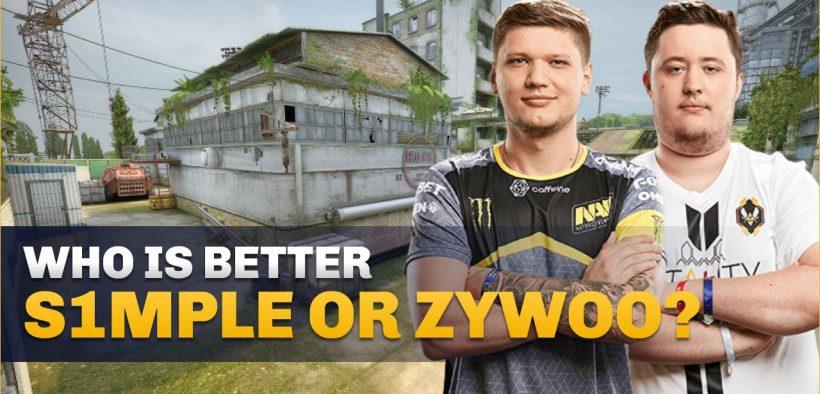 s1mple vs zywoo