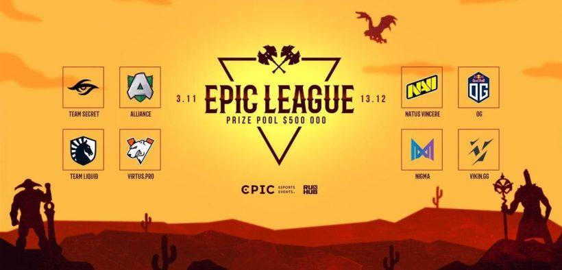 epic league dota 2